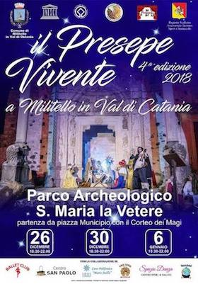 Video promo - Il presepe vivente 2018 a Militello in Val di Catania